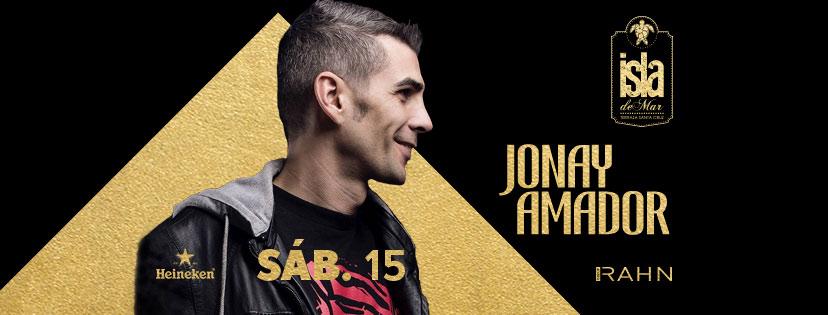 Tras su aniversario, Jonay Amador vuelve a Terraza Isla de Mar por Navidad