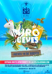 puro jueves reggaeton terraza isla de mar