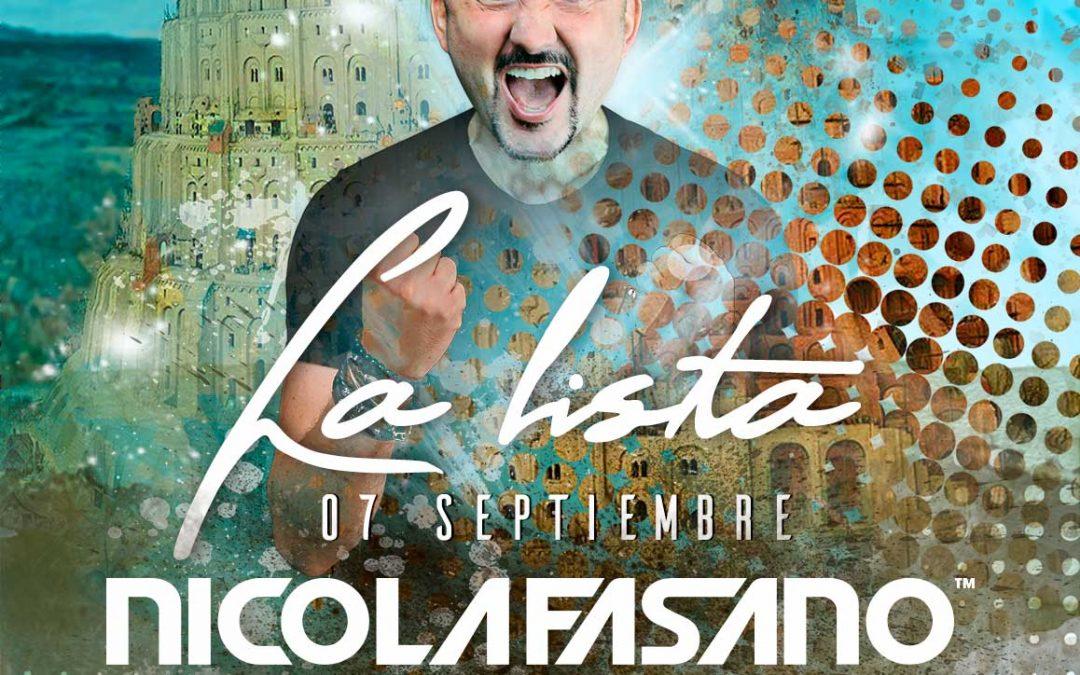 Nicola Fasano vuelve a Isla de Mar con su Babylonia Summer Tour