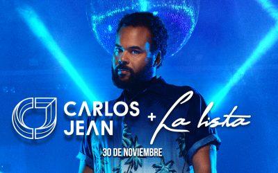 Carlos Jean vuelve a Terraza Isla de Mar con La Lista del Sábados
