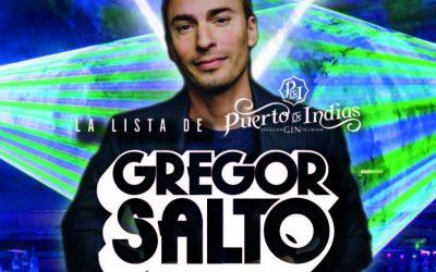 El dj internacional, GREGOR SALTO en Terraza Isla de Mar este viernes 13 diciembre