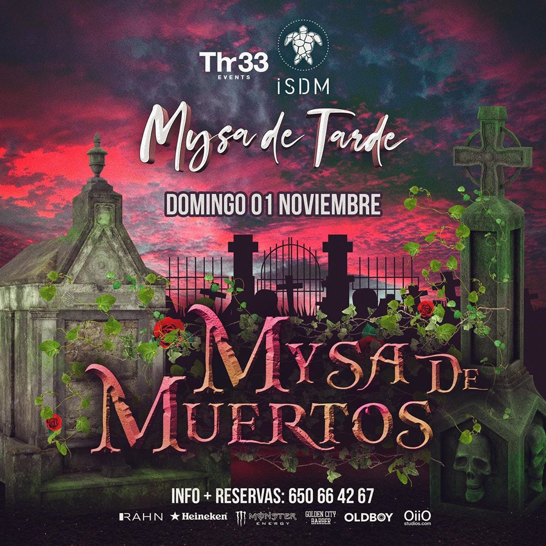 Mysa de Muertos en Terraza Isla de Mar Santa Cruz de Tenerife