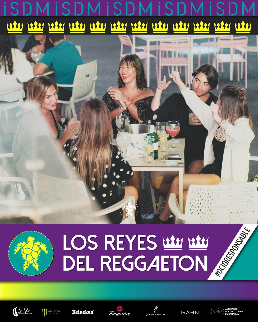 Los Reyes del Reggaetón de Tenerife Sábado 21 de Noviembre Terraza Isla de Mar